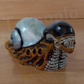 Xenomorph snail Caracol Xenomorfo Snailien Alien H R Giger Snail