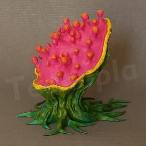 3D printed alien plant