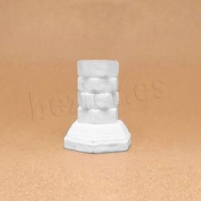 Stone cut column