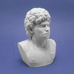 Bust of Diego Armando Maradona printed in 3D